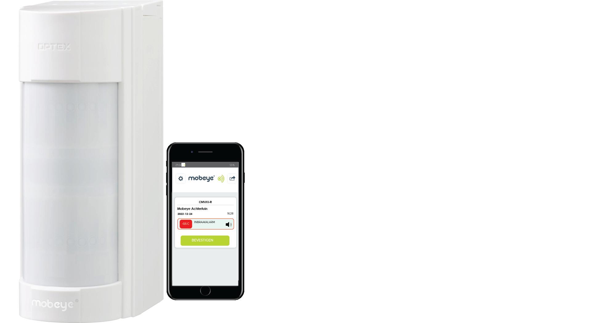 CMVXI-R – Mobeye Outdoor Alarm